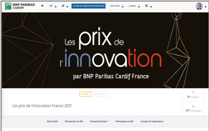 Les prix de l'innovation par BNP Paribas Cardif France