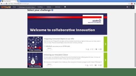 Sodexo promeut la culture de l'innovatio et le partage de bonnes pratiques 1